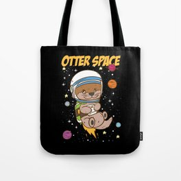 Otter Space | Outer Space Tote Bag
