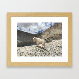 You Goat Me Framed Art Print