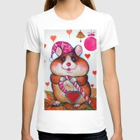 hamster T-shirts featuring HAMSTER by oxana zaika