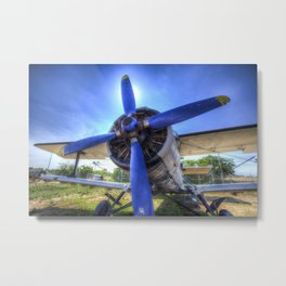 Antonov AN-2 Biplane Metal Print