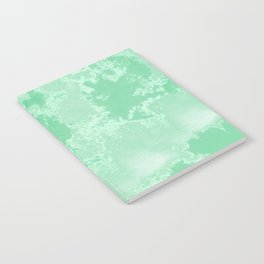 Sea Green Summer #pattern #texture Notebook