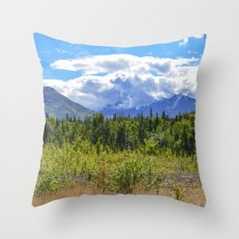 The Mountains Are Calling . . . II Throw Pillow