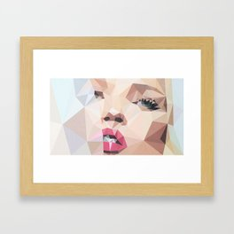 Miss Moss Framed Art Print