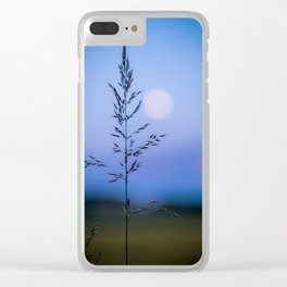 Tall Grass in Spring Clear iPhone Case