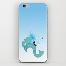 surfing 4 iPhone & iPod Skin