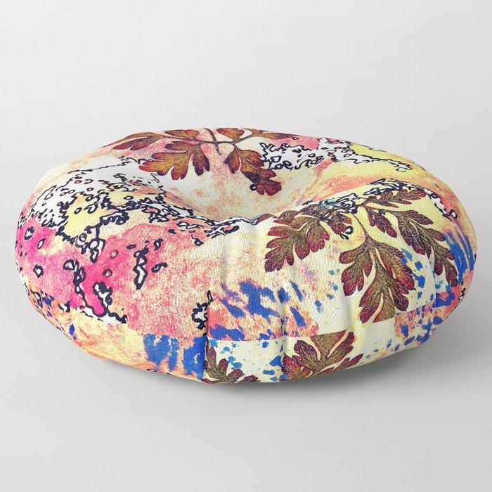 Sunset fall Floor Pillow
