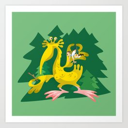 Year of the Elwetritsch Art Print