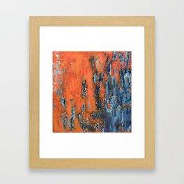 Oxidation II Framed Art Print