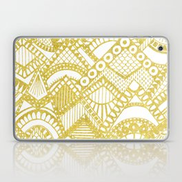Golden Doodle mountains Laptop & iPad Skin