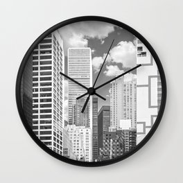 Manhattan NYC Wall Clock