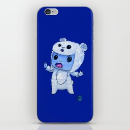 Moonkhin Iridum Snow iPhone Skin