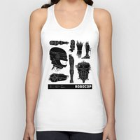 robocop Tank Tops featuring Decommissioned: Robocop by Josh Ln