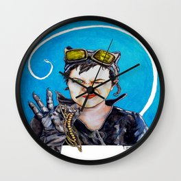 Nothing to Go Bats Over Wall Clock