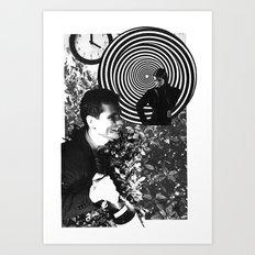 Spiraling Hopes Art Print