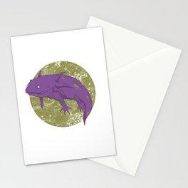 Axolotl Gothic Goth Water Aquarium Pet Animal Gift Stationery Cards