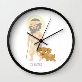 Saint Lazarus of Bethany Wall Clock