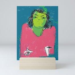 Hell hath no fury like a woman scorned Mini Art Print