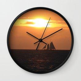 Gold Coast Wall Clock