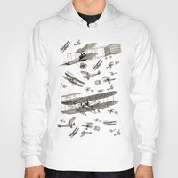 airplanes Hoodies featuring airplanes 2 by Кaterina Кalinich