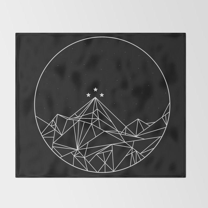 The Night Court Symbol Throw Blanket By Torijacob Society6