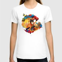 luffy T-shirts featuring Luffy Attack by feimyconcepts05
