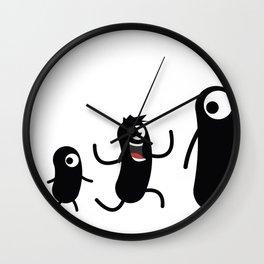 Monztar evolution Wall Clock