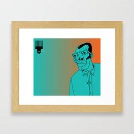 1001 Black Men--#258 Framed Art Print