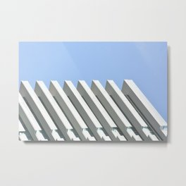 Through The Glass 3 Metal Print