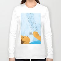 coconut wishes Long Sleeve T-shirts featuring Wishes by Lacey Jae