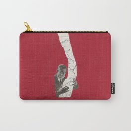 Torn Around — Red Map Carry-All Pouch