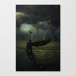 Hero of the Storm by GEN Z Canvas Print