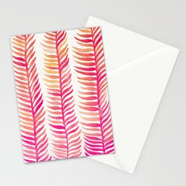 Pink Ombré Seaweed Stationery Cards