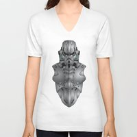 storm trooper V-neck T-shirts featuring Storm Trooper by Josh Belden