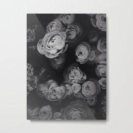 Dark Peonies Metal Print