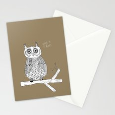 Give A Hoot Stationery Cards
