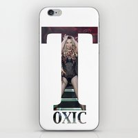 britney iPhone & iPod Skins featuring Britney Toxic by eriicms