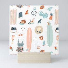Summer kit Mini Art Print