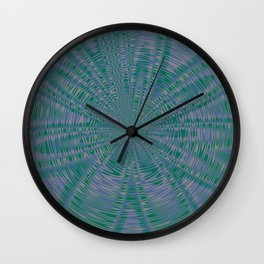 "RIVERSIDE and LUSH MEADOW ""VIBES"" Wall Clock"