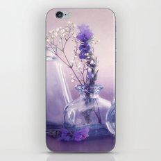 PURPLE STILL LIFE iPhone & iPod Skin