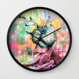 Garden of a War  Wall Clock