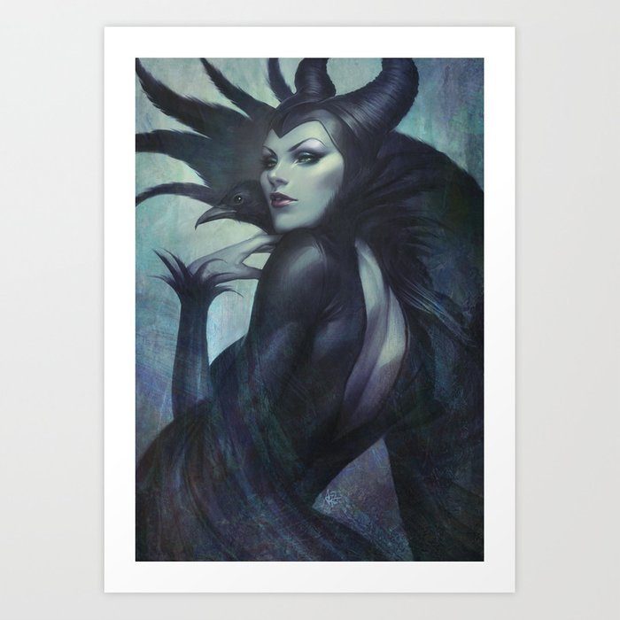 Discover the motif WICKED by Stanley Artgerm Lau as a print at TOPPOSTER