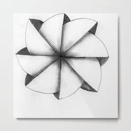 fllower Metal Print
