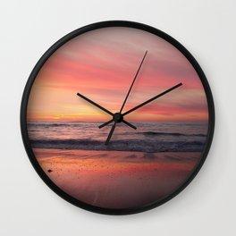 Blushing Sky Wall Clock