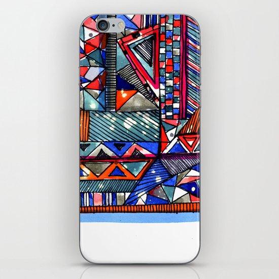 Tribal Texture iPhone Skin