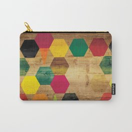 Wood Prints Carry-All Pouch