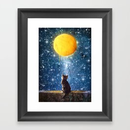 A Yarn of Moon Framed Art Print