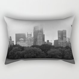 fog in city... Rectangular Pillow