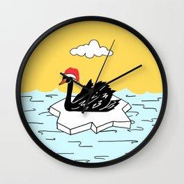 Shazam the Swan Wall Clock