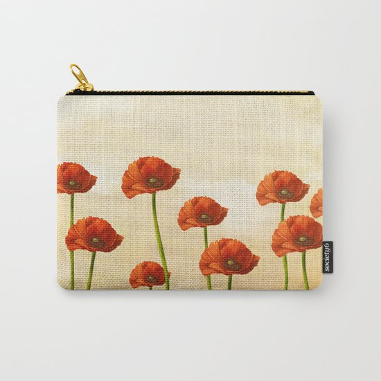 Where the Poppies Bloom Carry-All Pouch