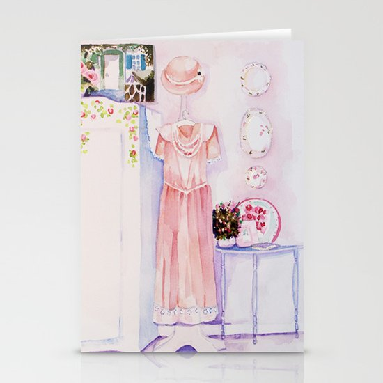 A pretty room Stationery Cards